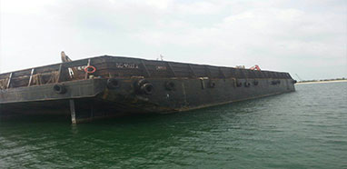 Ship Sale : 4500 tons Flat Barge For Sale