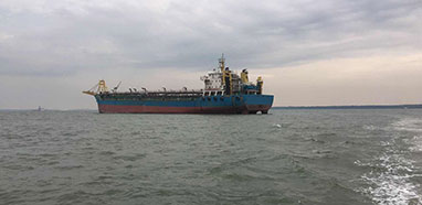 Ship Sale : 11000 T Self suction self unloading sand For Sale